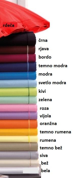 Barvna paleta blaga - 100% letni bombaž - PLATNO