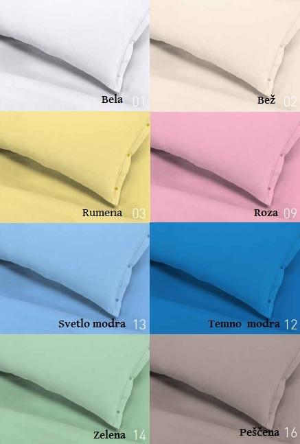 Barvna paleta blaga - 100% topli bombaž FLANELA