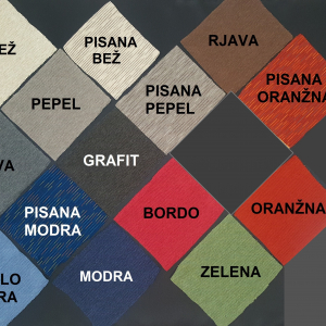 Barvna paleta blaga - ELASTAN